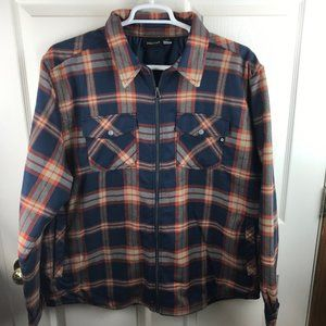 NWT Men's Marmot Arches Flannel Insulated Jacket